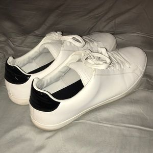 Zara Mens White Sneakers Shoes Casual